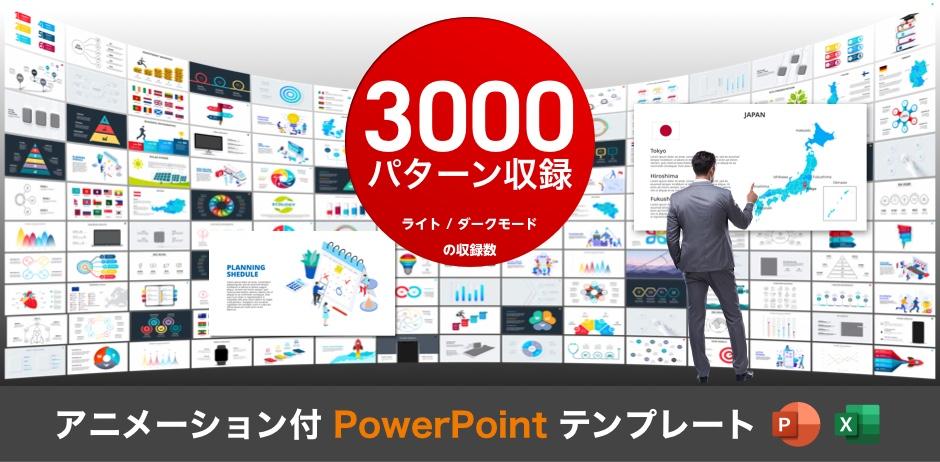 アニメーション付 PowerPoint テンプレート