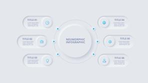 Neumorphism(ニューモーフィズム)PowerPoint テンプレート